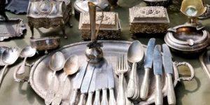 Silver, Scrap Silver & Silver Plate